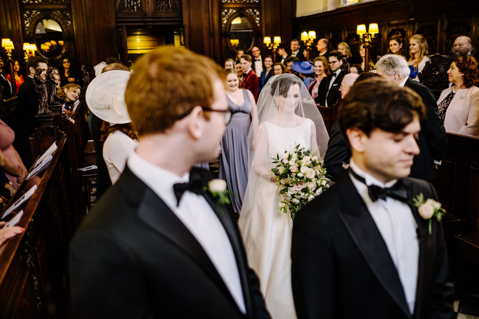 Bodleian Library Wedding Photography of Daisy and Adam's wedding by Sam and Steve Photography