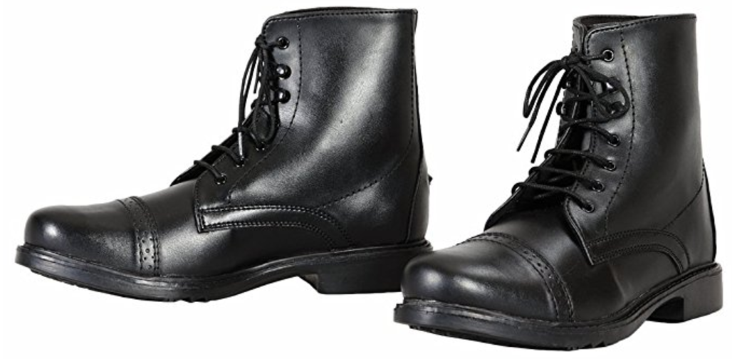 TuffRider Kid's Starter Lace-up Paddock Boots