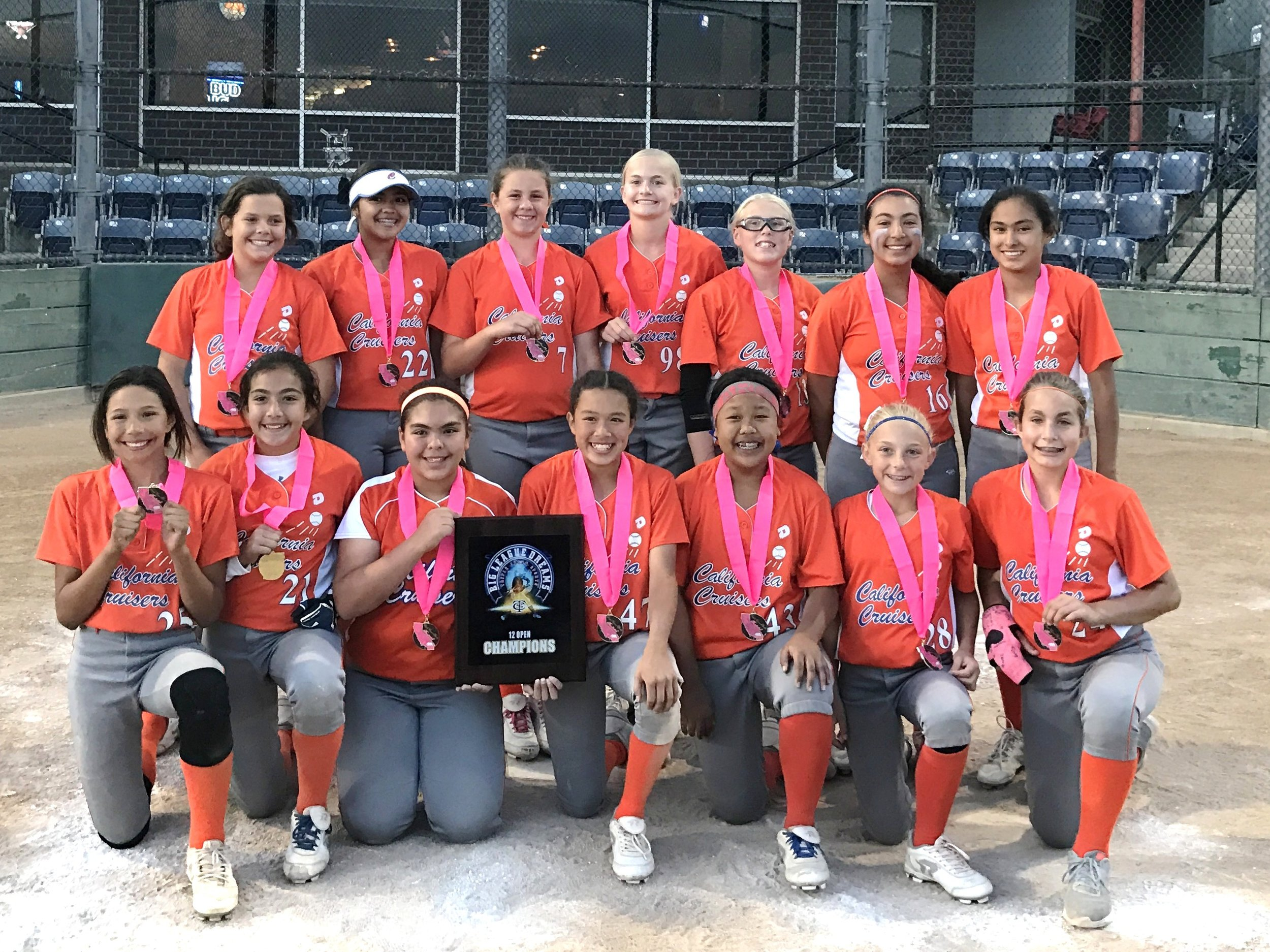 12U California Cruisers Alaan Gold 1st Place at TCS BLD Tournament (April 2017)