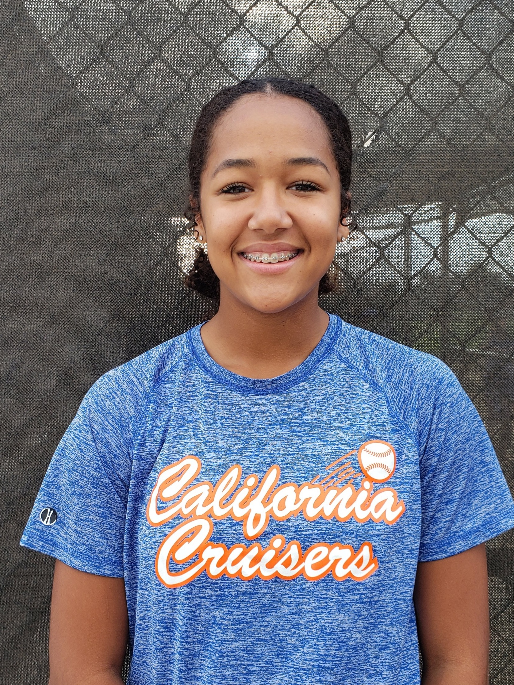 """#8 TATUM JOHNSON   Highlight Video: Click on Image  Grad Year: 2022  Position(s): P/OF  B/T: L/R  Height: 5'11""""  High School: Chino Hills  College: Uncommitted"""