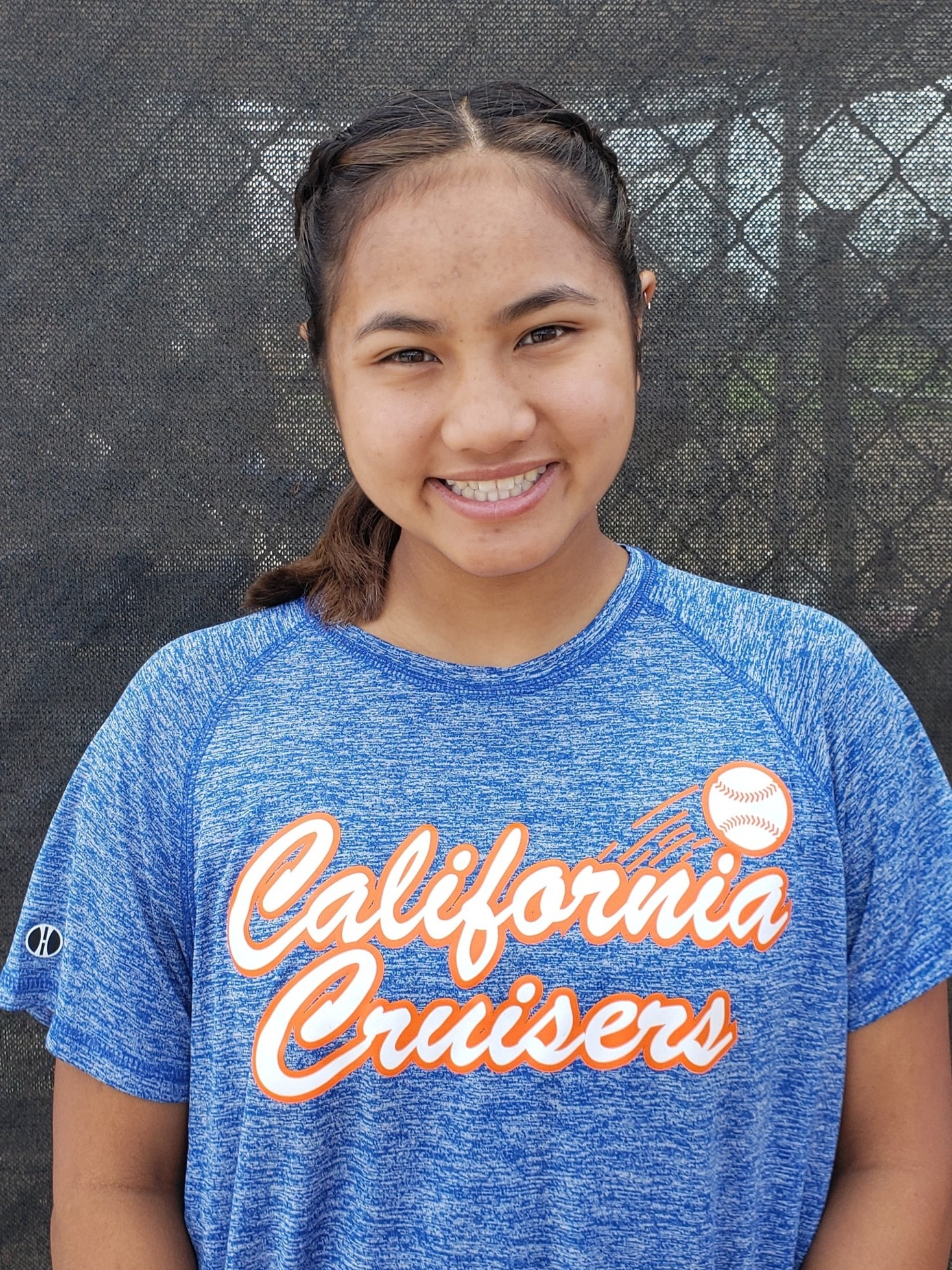 """#22 LAUREN LEJANO   Highlight Video: Coming Soon  Grad Year: 2021  Position(s): 2B/OF  B/T: L/R  Height: 5'2""""  High School: Cerritos  College: Uncommitted"""