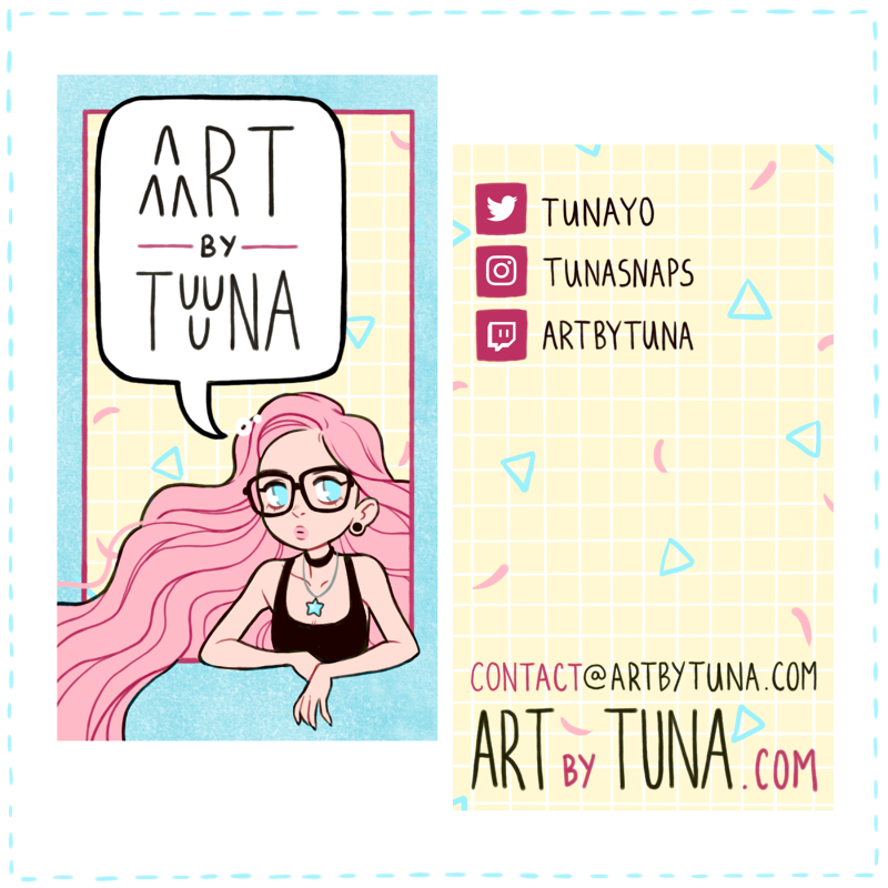 Current business card design