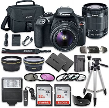 Canon EOS Rebel T6 Digital camera and accessories  here