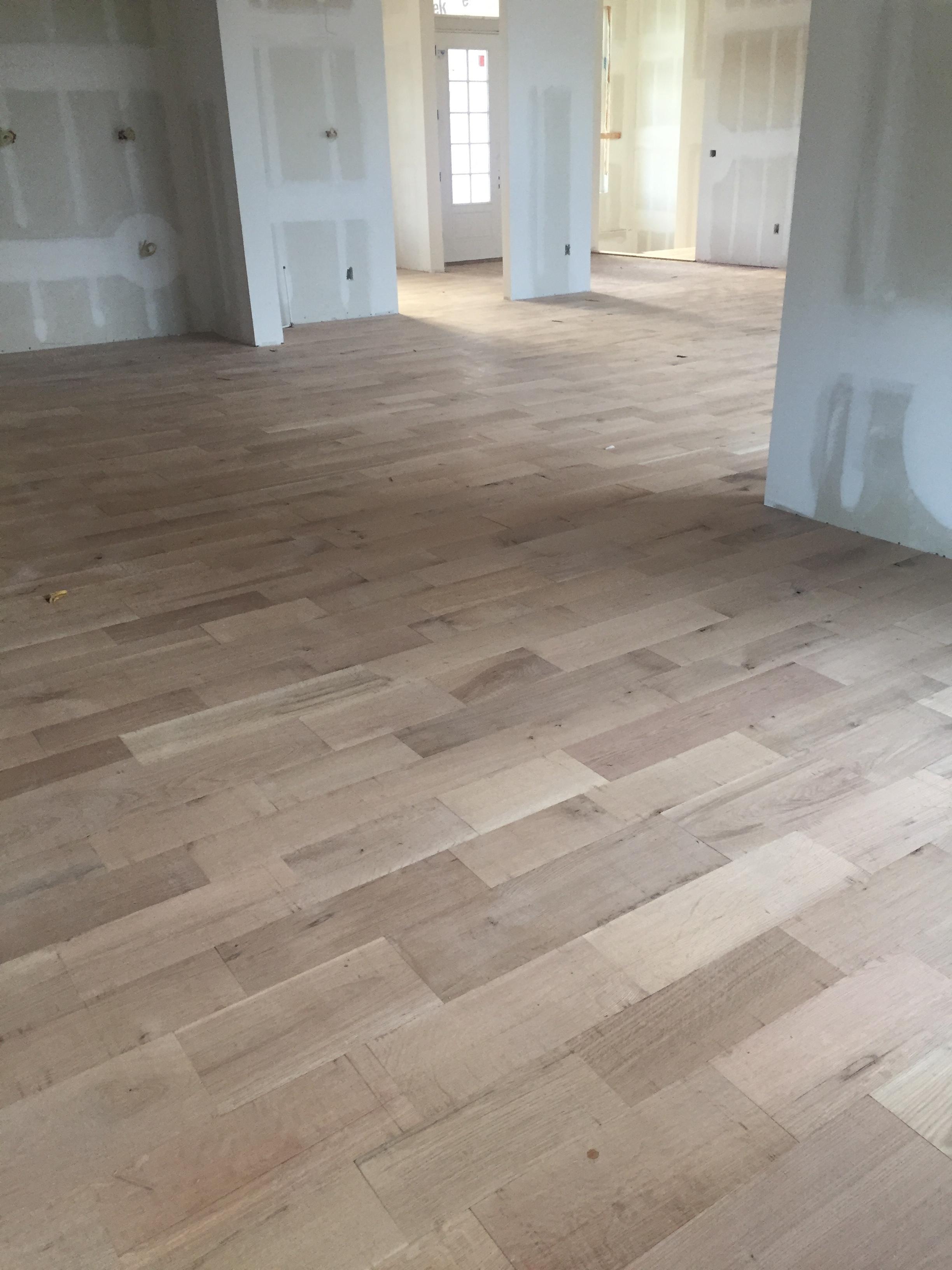 Wide plank European White Oak