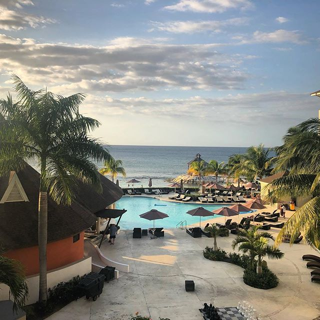 Room with a view! 🇯🇲 #secretswildorchid #secretsstjames #jamaica