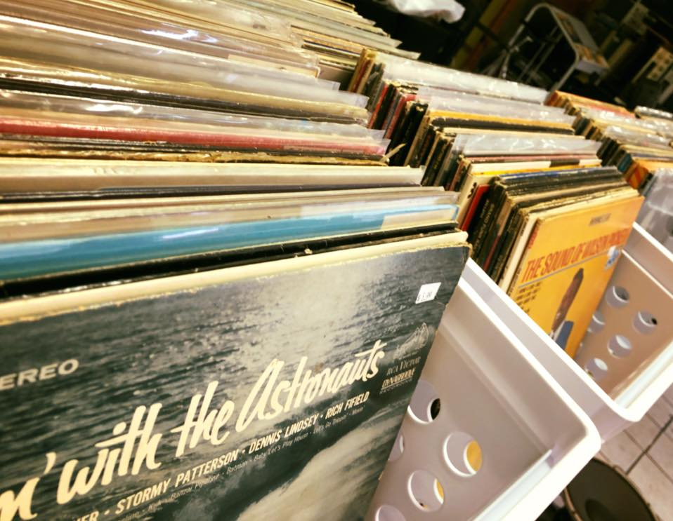 New! We've got records in the shop!