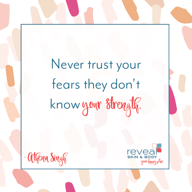 Never trust your fears they don't know your strength. -Athena Singh