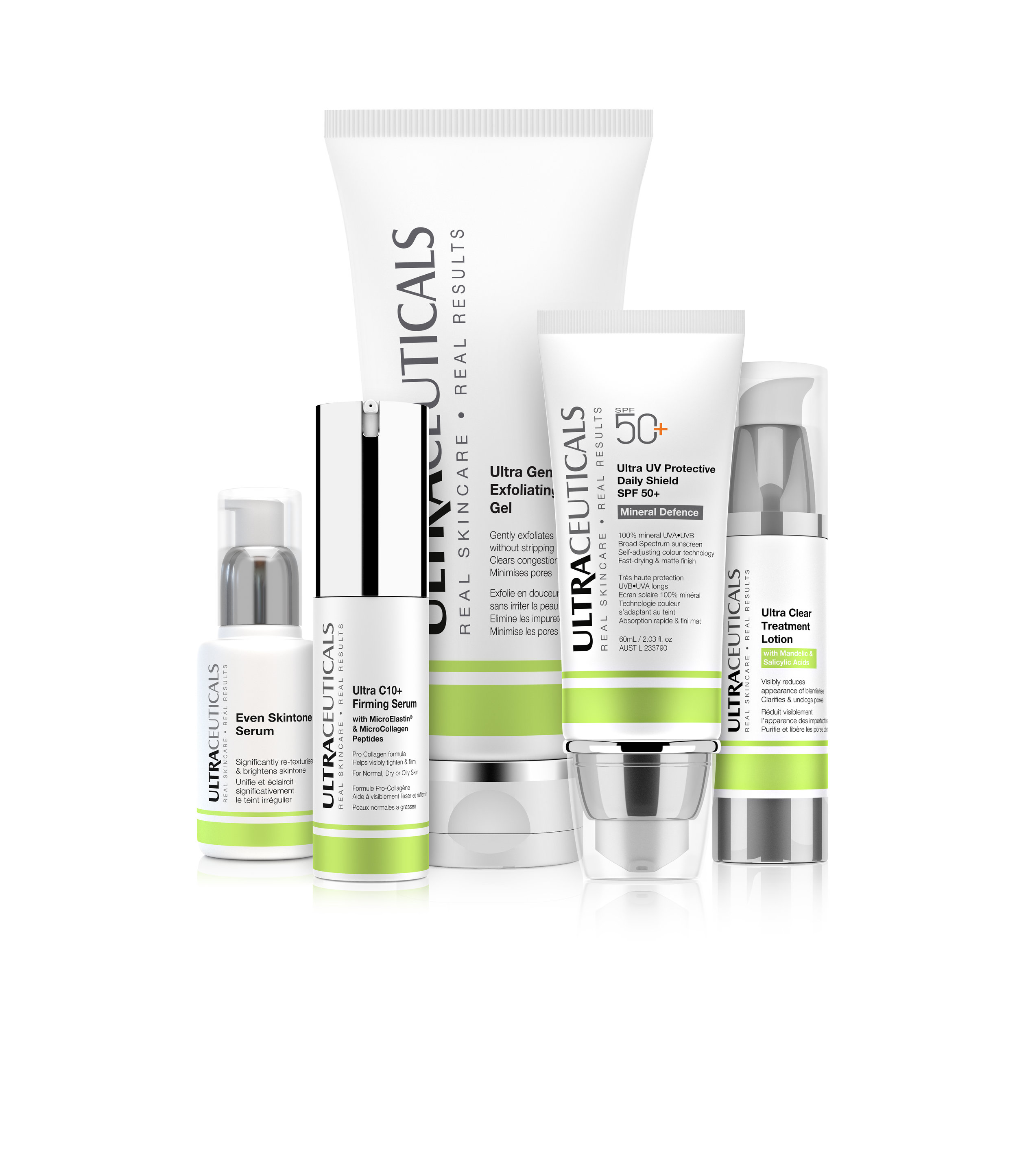 Ultraceuticals for dry skin