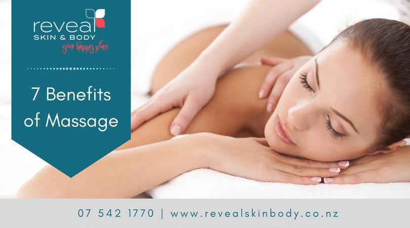Seven Benefits of Massage