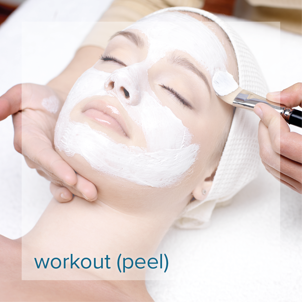 chemical peels with Reveal Skin and Body