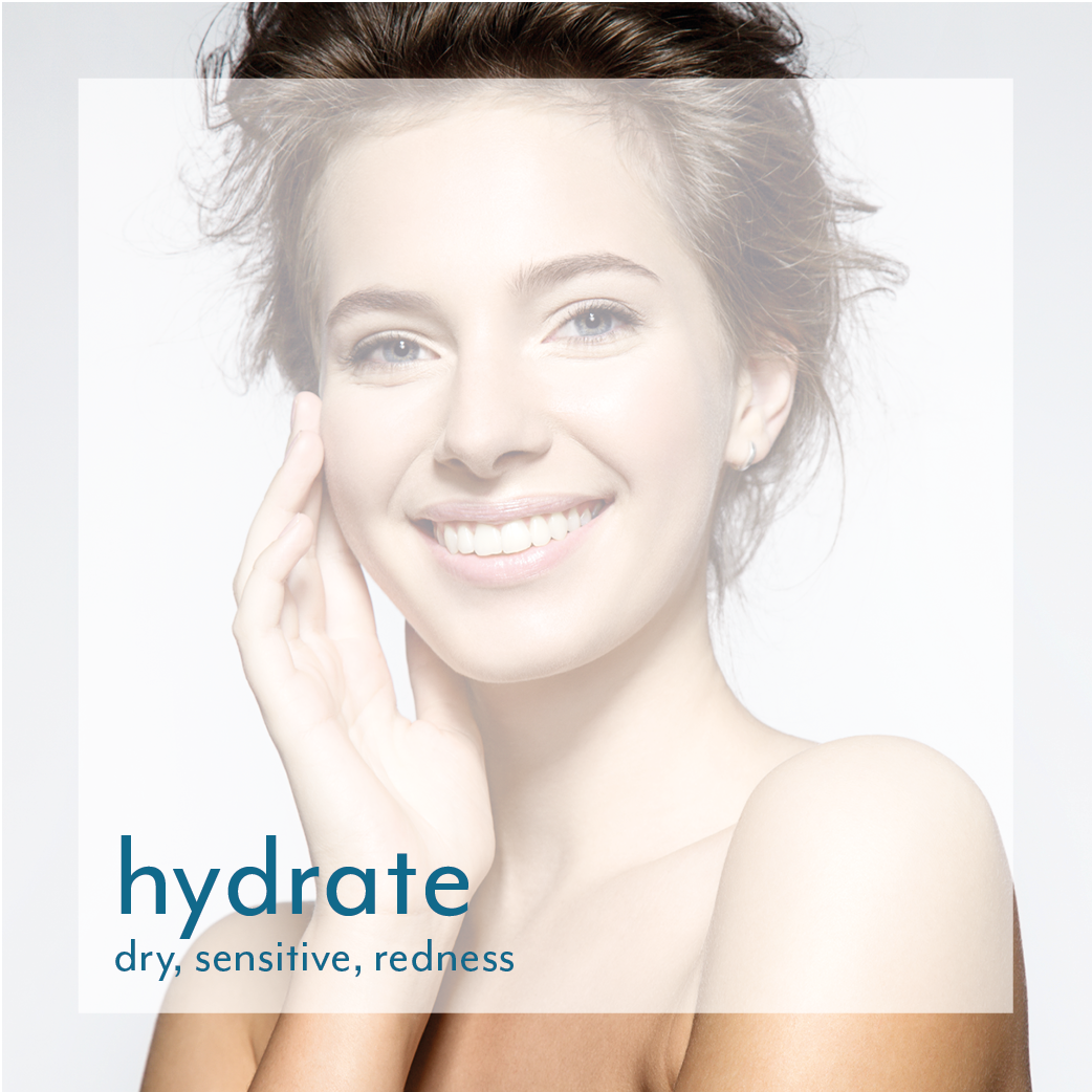 hydrate dry, sensitive skin at Reveal skin and body
