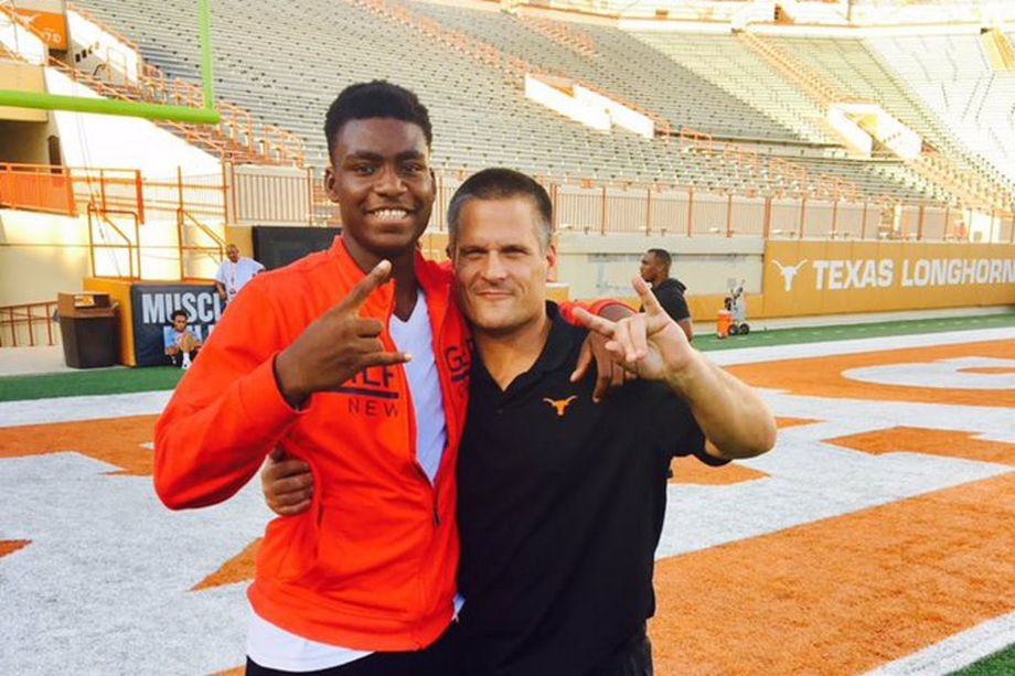 4-star DE Joseph Ossai trending towards Texas -