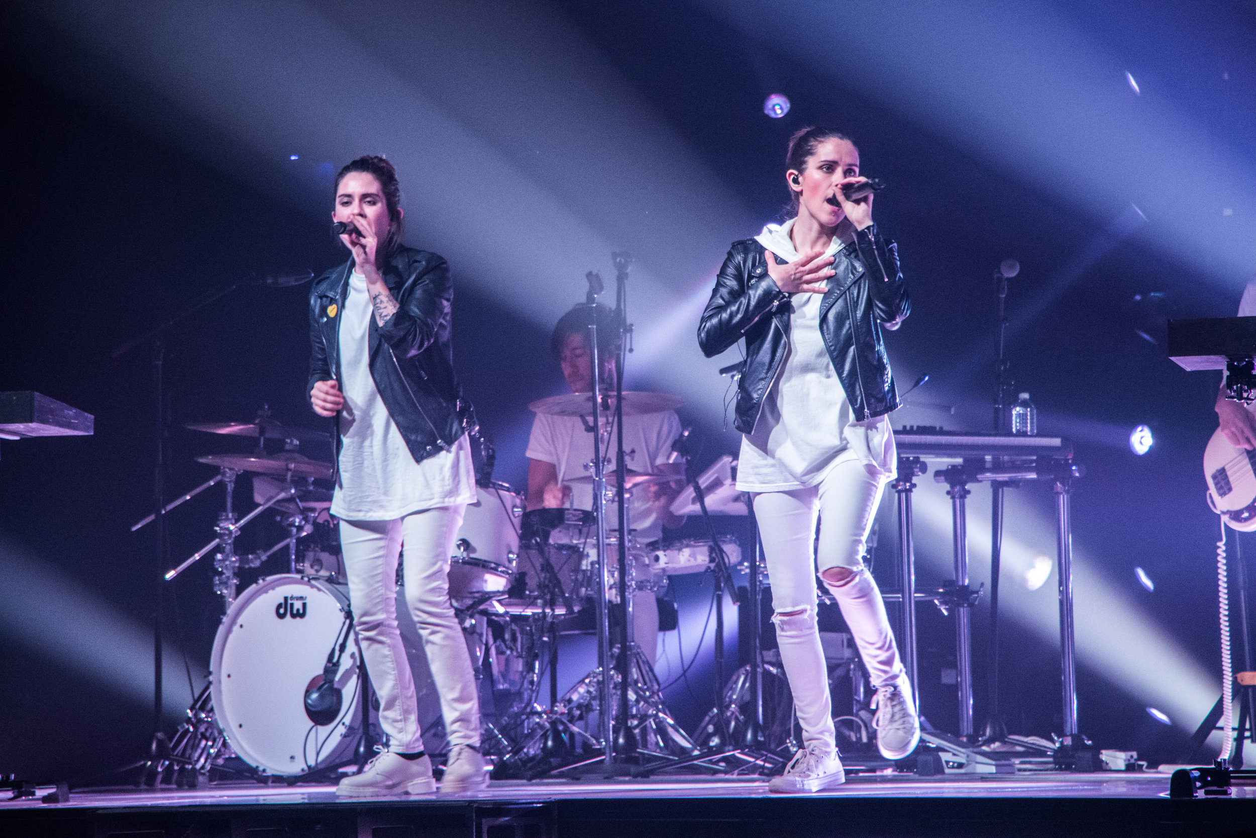 Tegan and Sara live at The Pageant