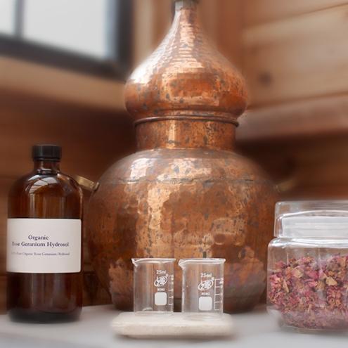mala distiller w hydrosol