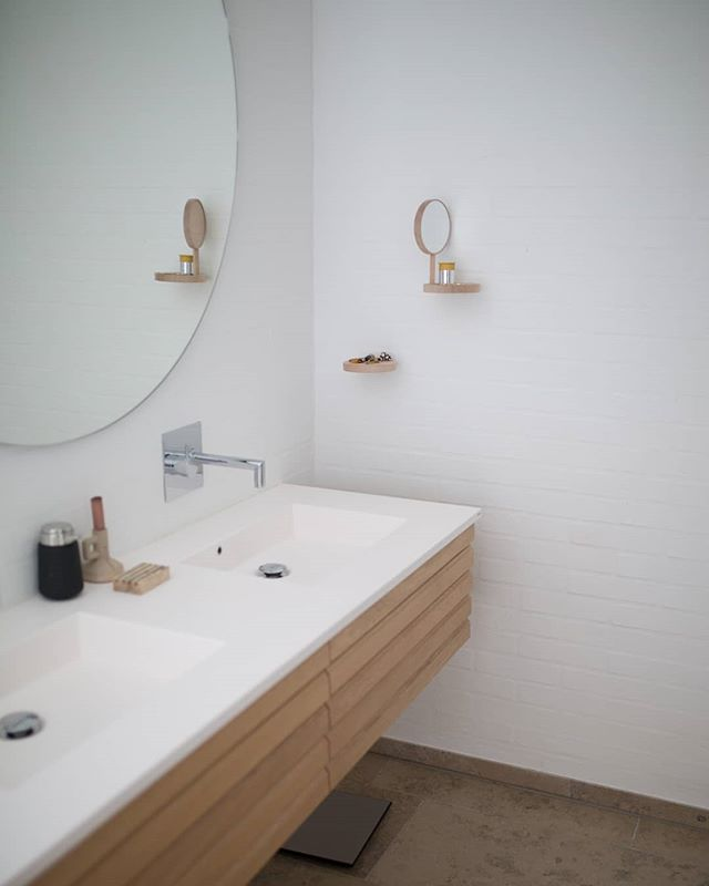 Bathroom Inspiration. Check this out.