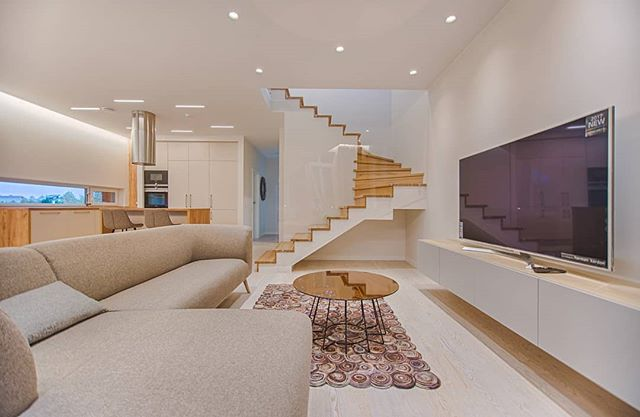 House Inspiration. Check this home out. #openfloorfplan #stairs #neutrals