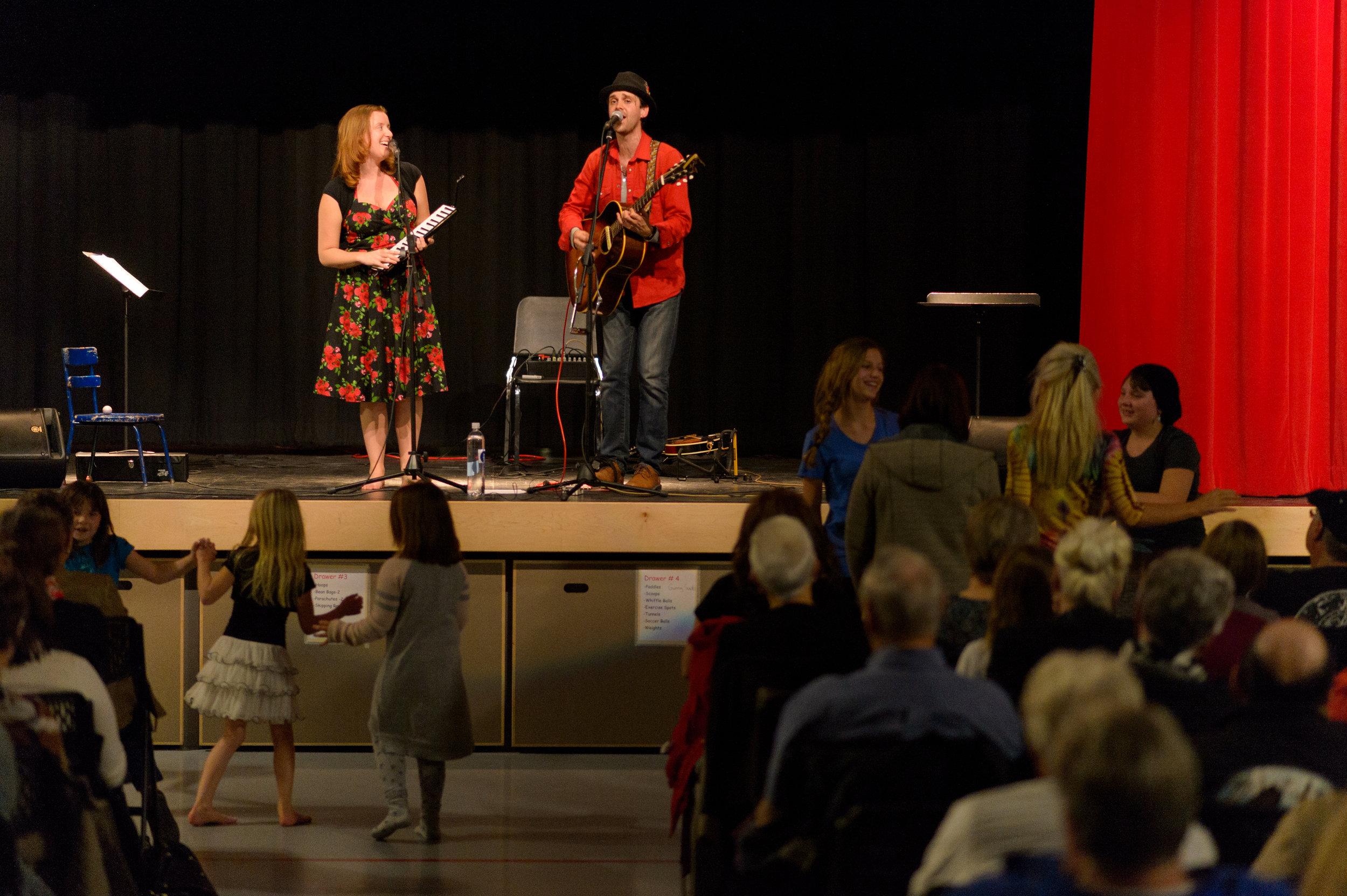 Fundraiser Concert, Oxbow, SK 2015