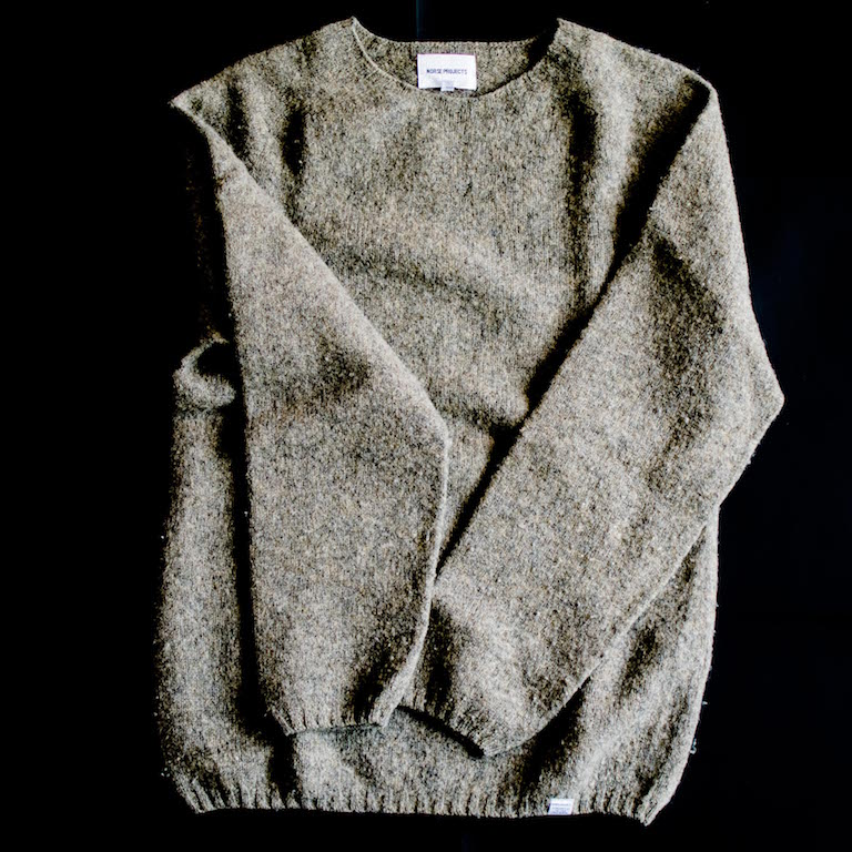 WOOL-CASHMERE SWEATER.