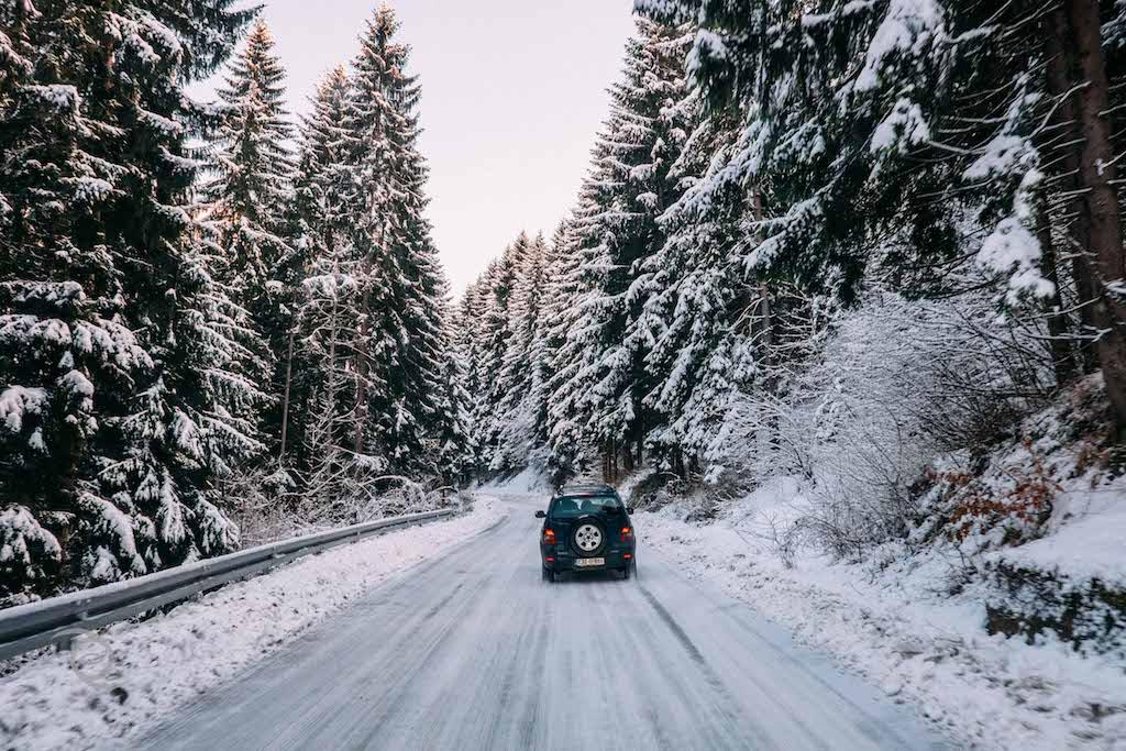 Perjalanan menuju Mount Trebevic dalam rangkaian tur The Frontline
