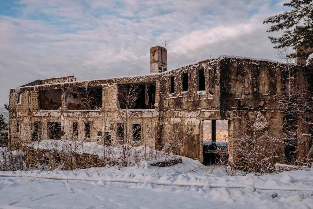 Sniper hotel at Mt Trebevic