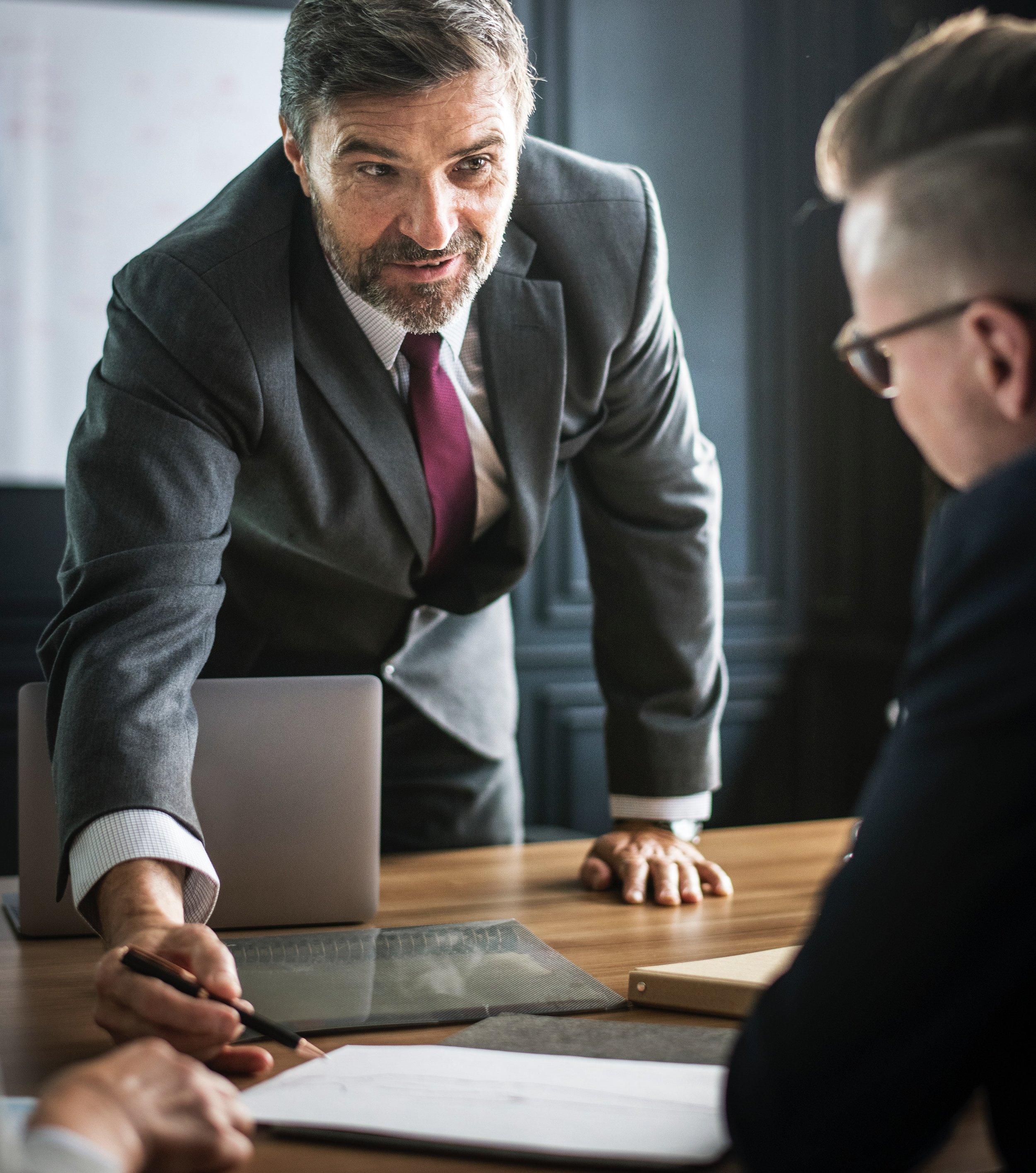 The Successful Male, Business Men Talking