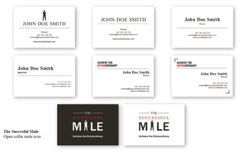 TSM Mentor Business Card Gallery - Standard Options
