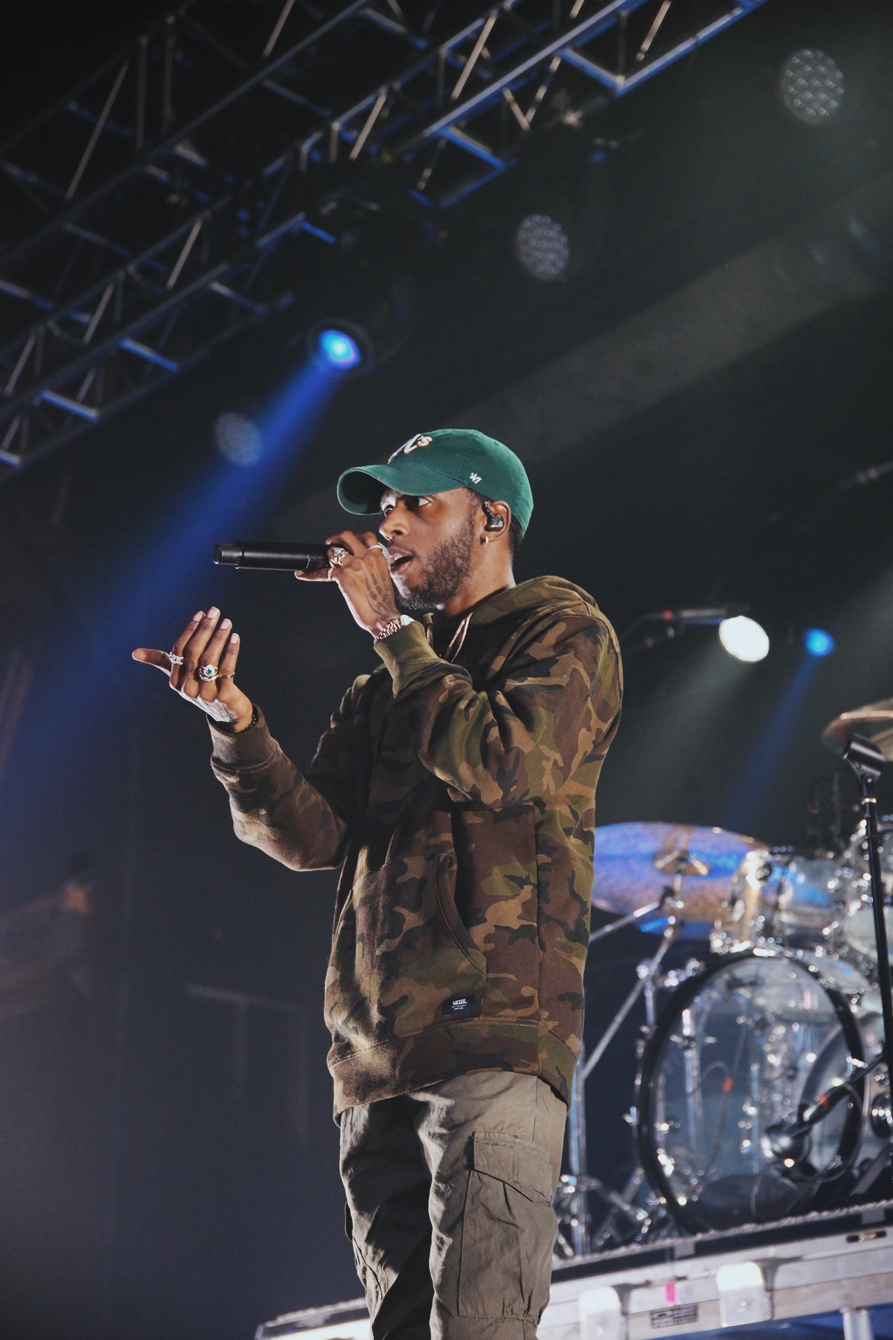 6lack in phoenix, arizona in december 2018 - 2