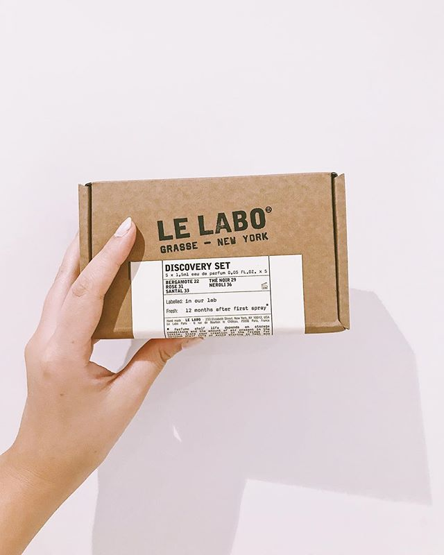 Oh Le Labo, how I love you so. If you haven't smelt these dreamy fragrances you're missing out (my favourite scent by far is Santal 33). Although these are usually super pricey in full size, I found a 'discovery set' on Net-a-Porter with 5 minis for only £20. It's a great way of sampling these without splashing out £125 for a 50ml, plus they're perfect for stashing in your bag when you want a freshen up. It's a win-win! @lelabofragrances #lelabo #lelabofragrances #fragrance #perfume #scent #bblogger #beautyblogger #blogger #beauty #vscocam #minis #netaporter #newin #shopping