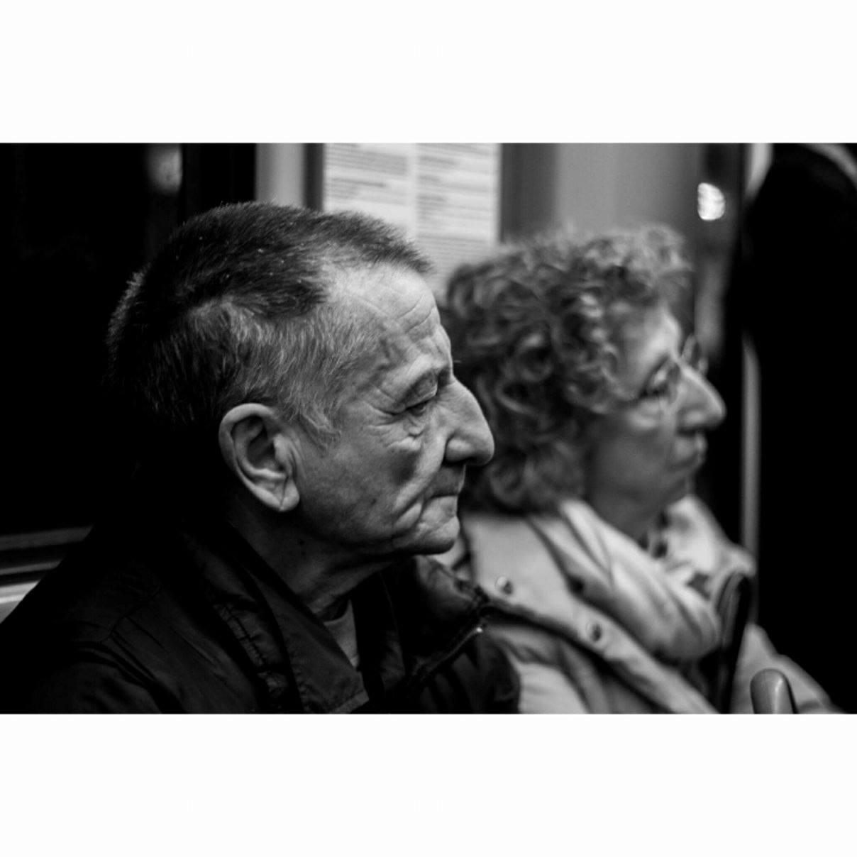 Commuters, Milan - December 2016