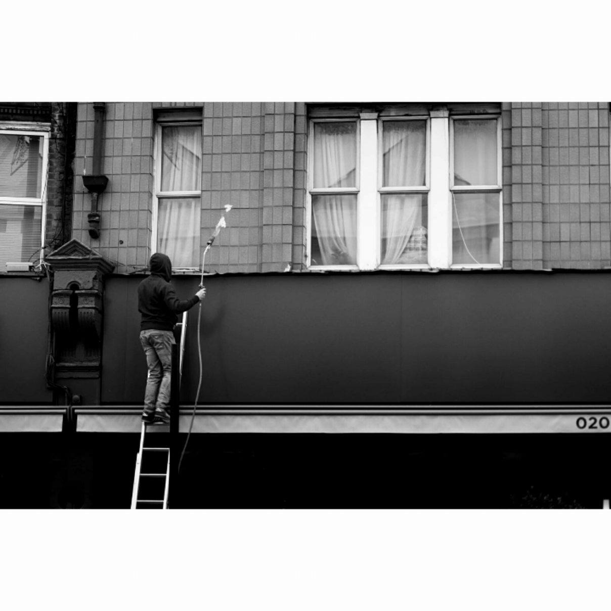 Fire man, London - January 2017