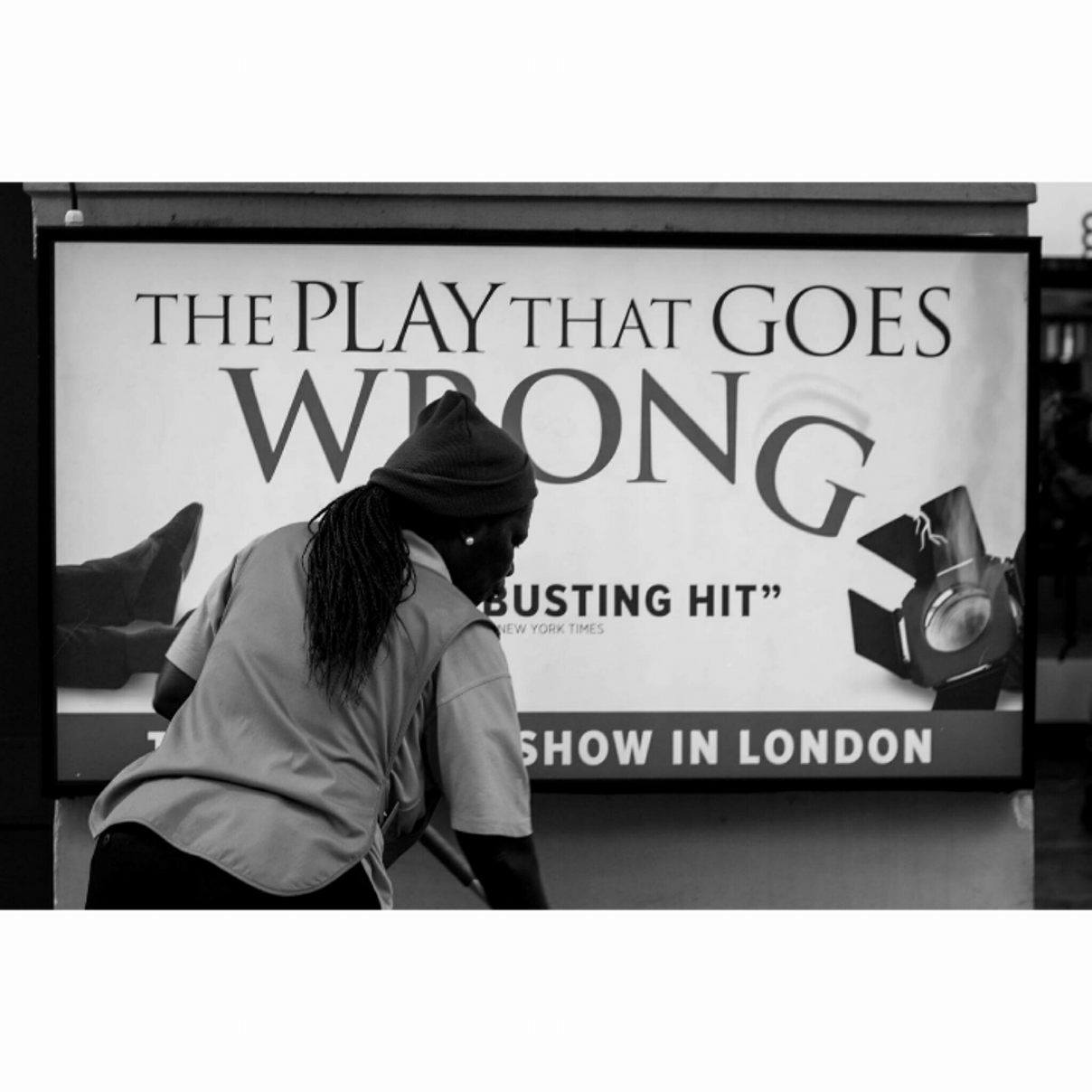 The play that goes wrong,London - January 2017
