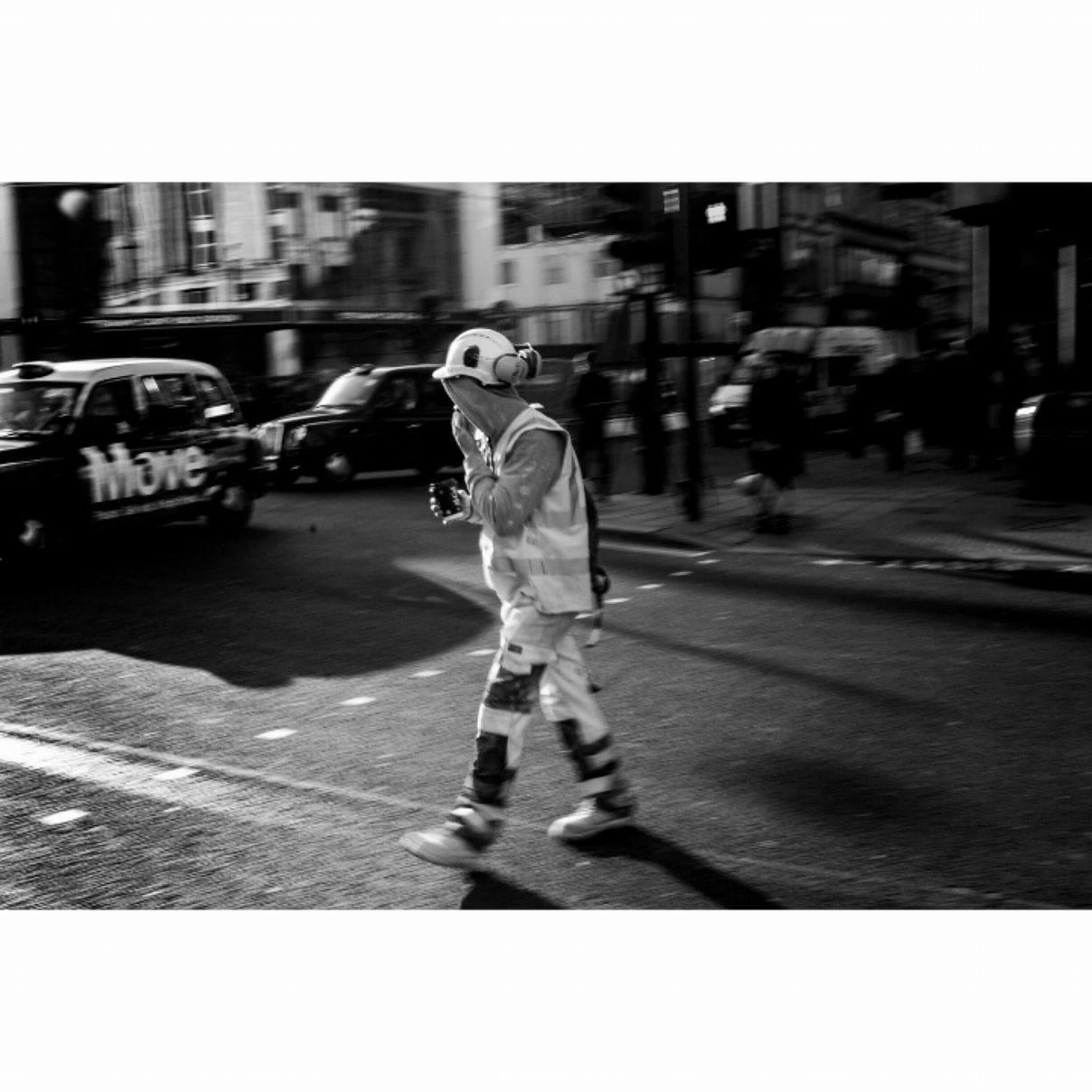 Construction Worker, London - January 2017