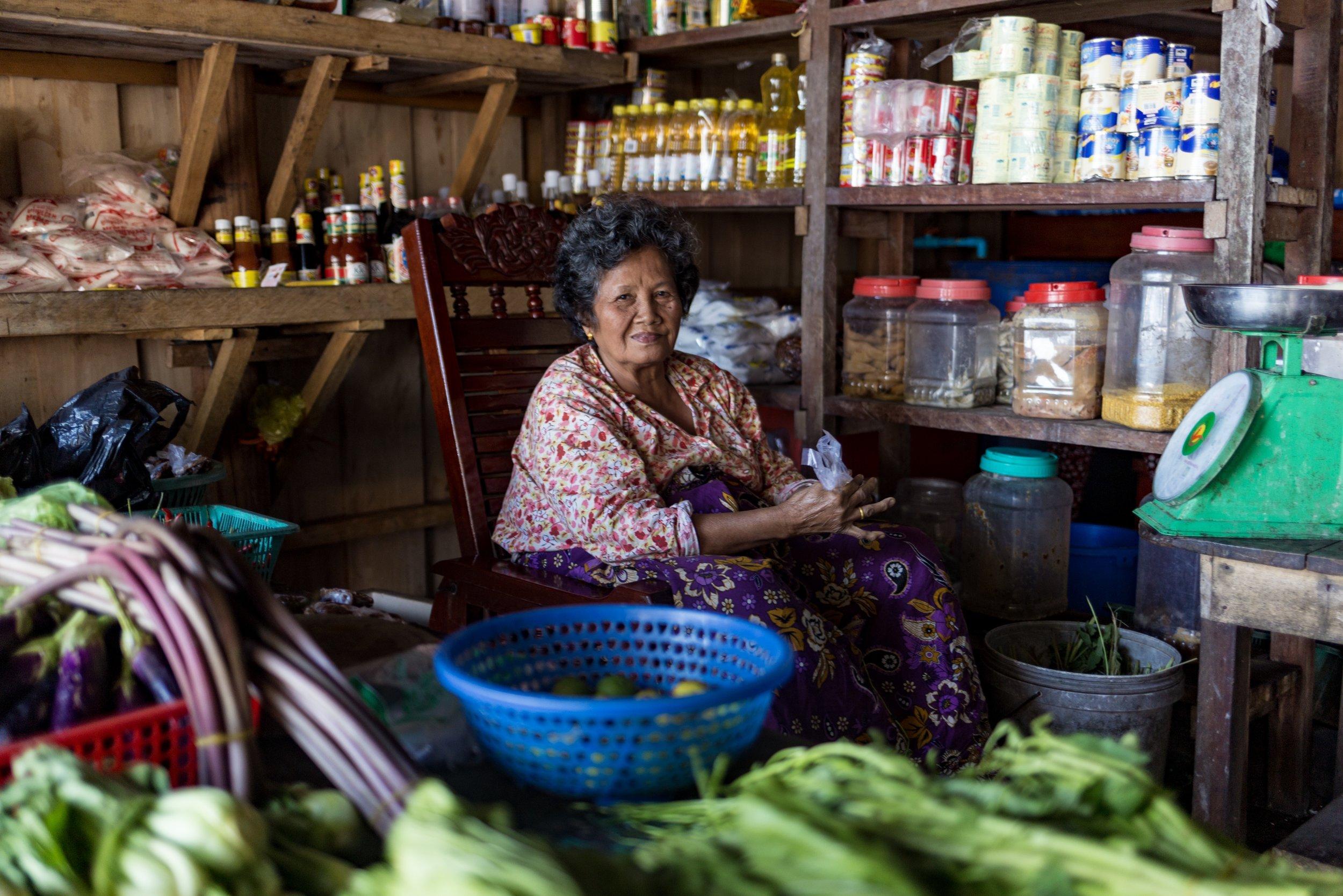 Greengrocer, Koh Rong - December 2017
