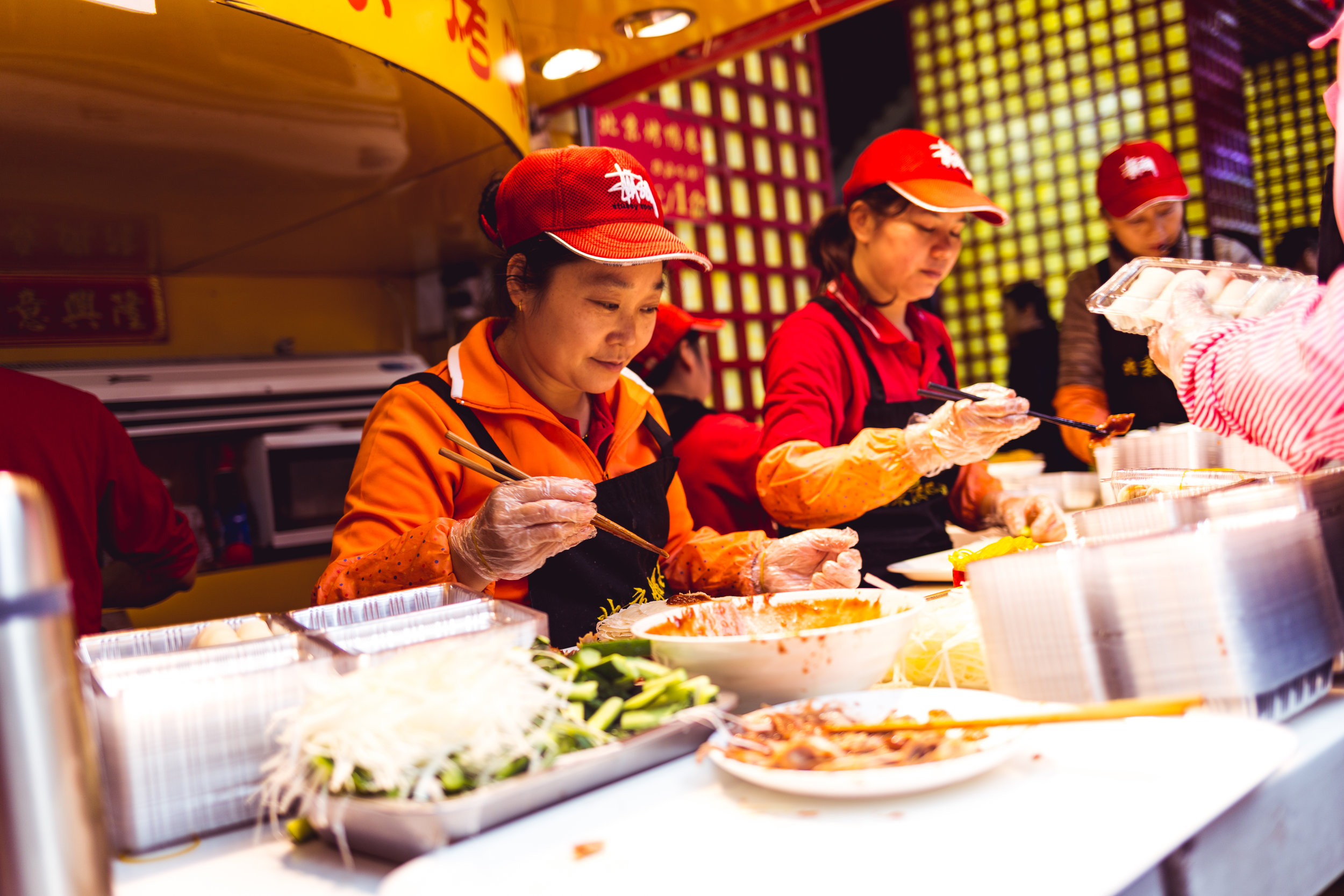 Street food, Shenzhen - January 2018