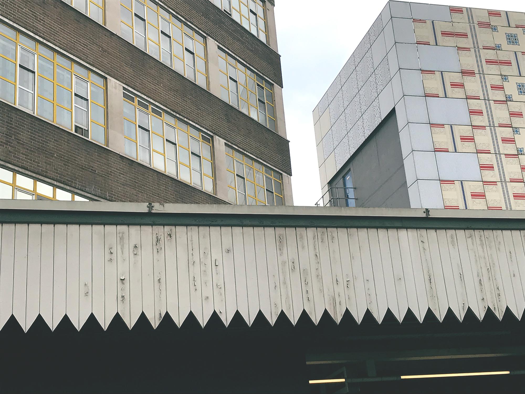 Edgware tube station.