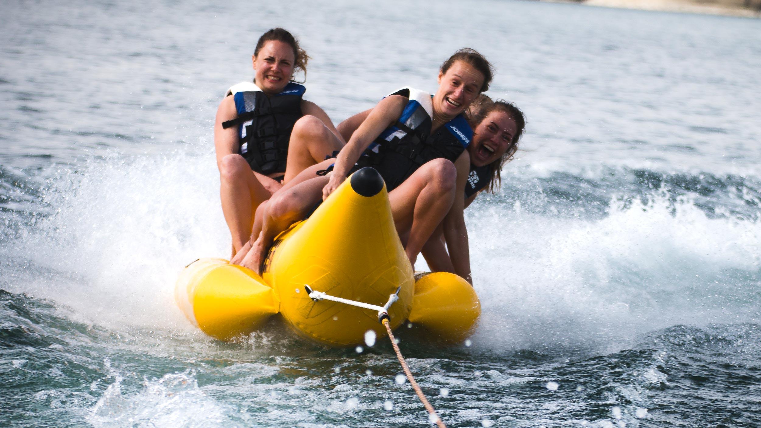 Bananenboot (4P) - »Buchen«