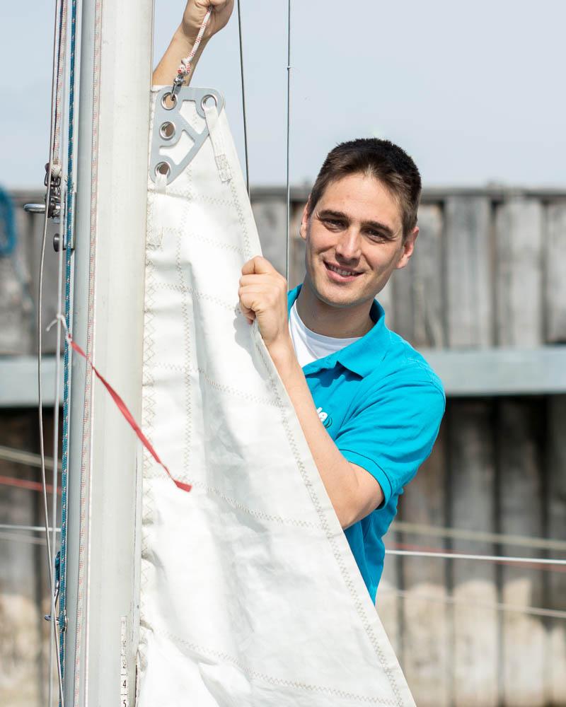 Markus - Als langjähriger Segeltrainer mit Trainerschein stieß er 2017 zur Wilden Flotte. Seitdem unterstützt er uns tatkräftig so viel er kann bei der Segel- und Motorbootausbildung. Unser