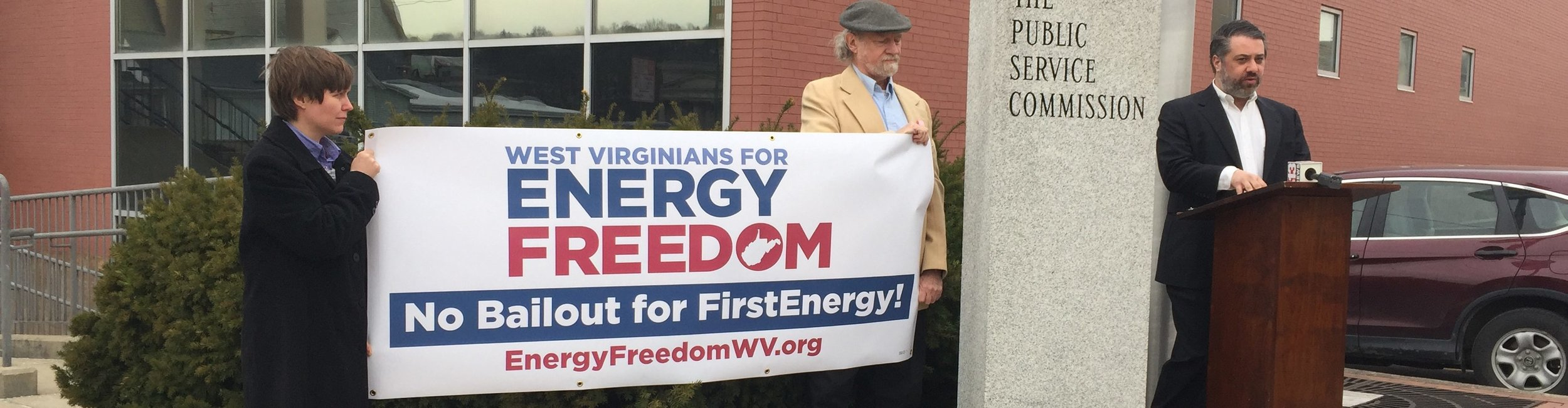 Launched in early 2017, West Virginians For Energy Freedom – a coalition formed by Solar United Neighbors of West Virginia, Energy Efficient West Virginia, and West Virginia Citizen Action Group – came out swinging against FirstEnergy.