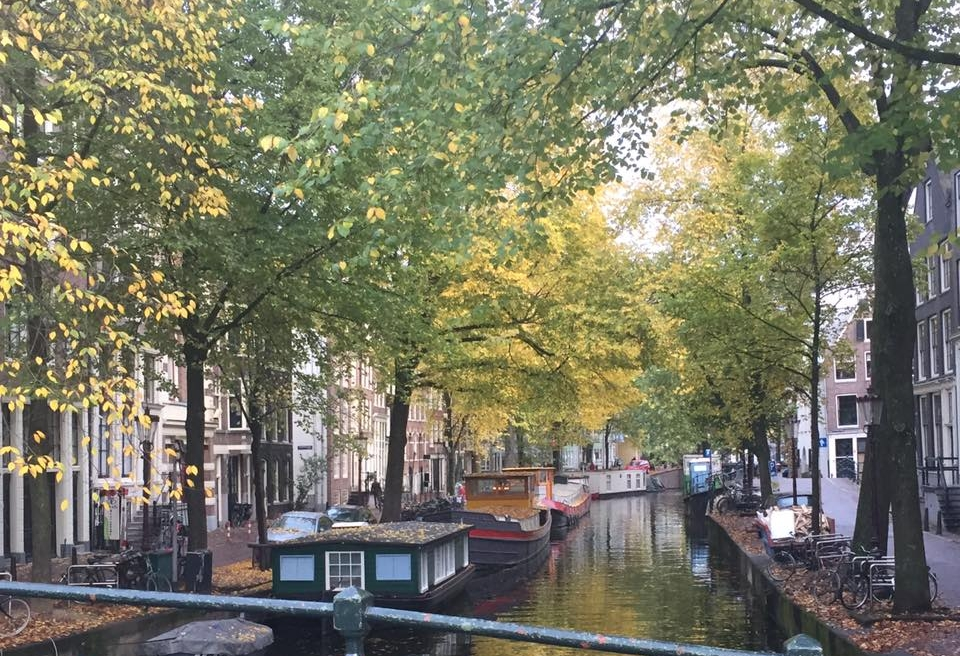 Amsterdam. I kind of miss it - and then again, I really don't.  (picture by Annette Burgers)