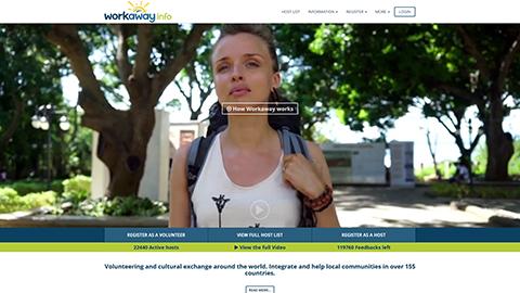 Workaway hosting profile