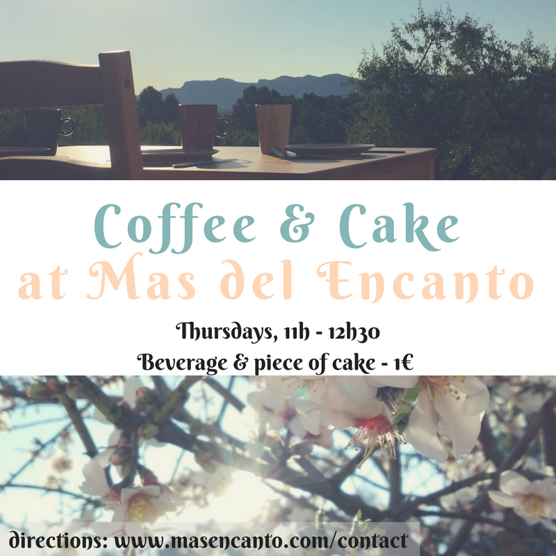 Coffee and Cake Thursdays are our way to welcome everybody to our little farmstead - it's a chance for neighbours to connect, for us to show our visitors around, and for everybody to try my latest experiments in the kitchen...
