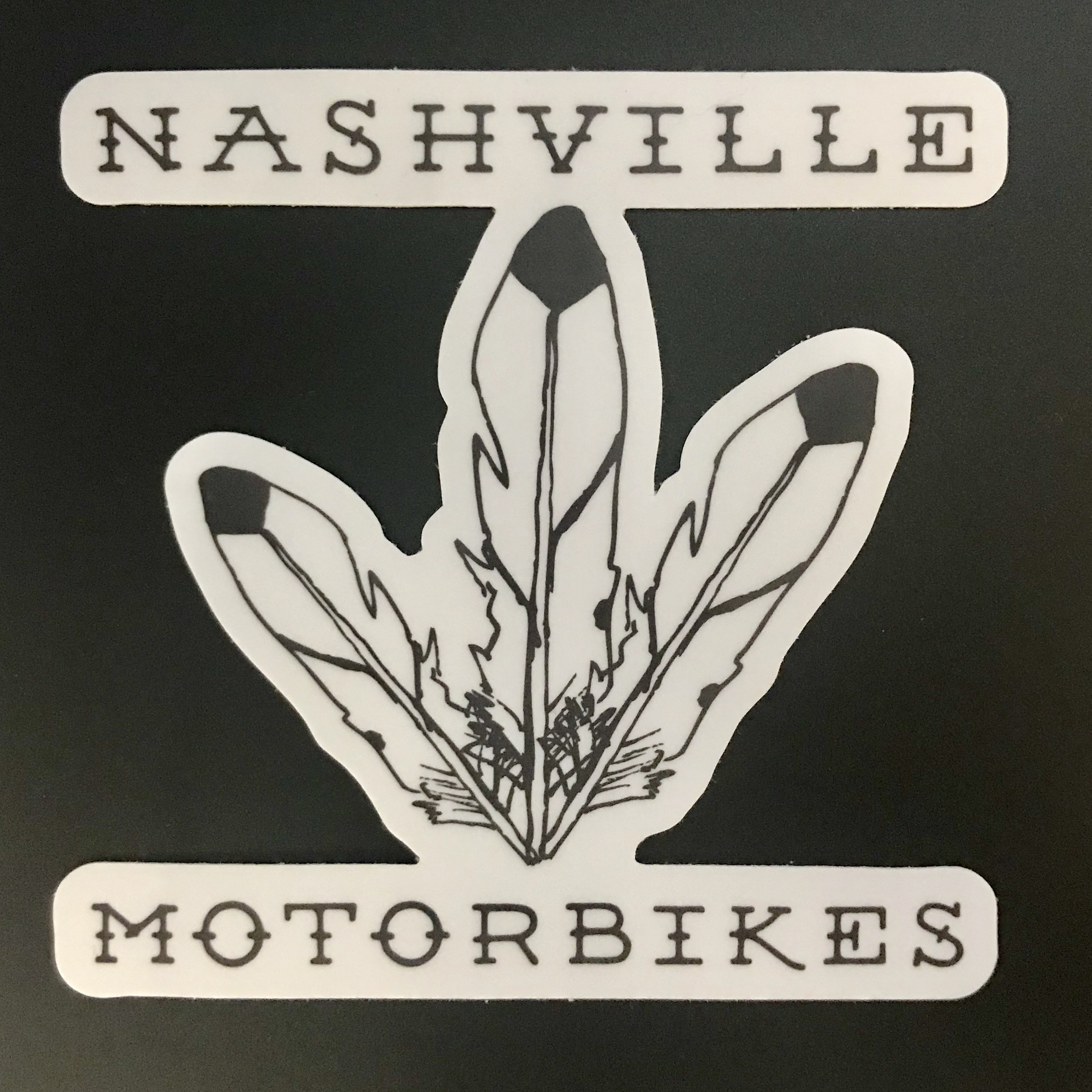 Western Feathers Sticker     OUT OF STOCK