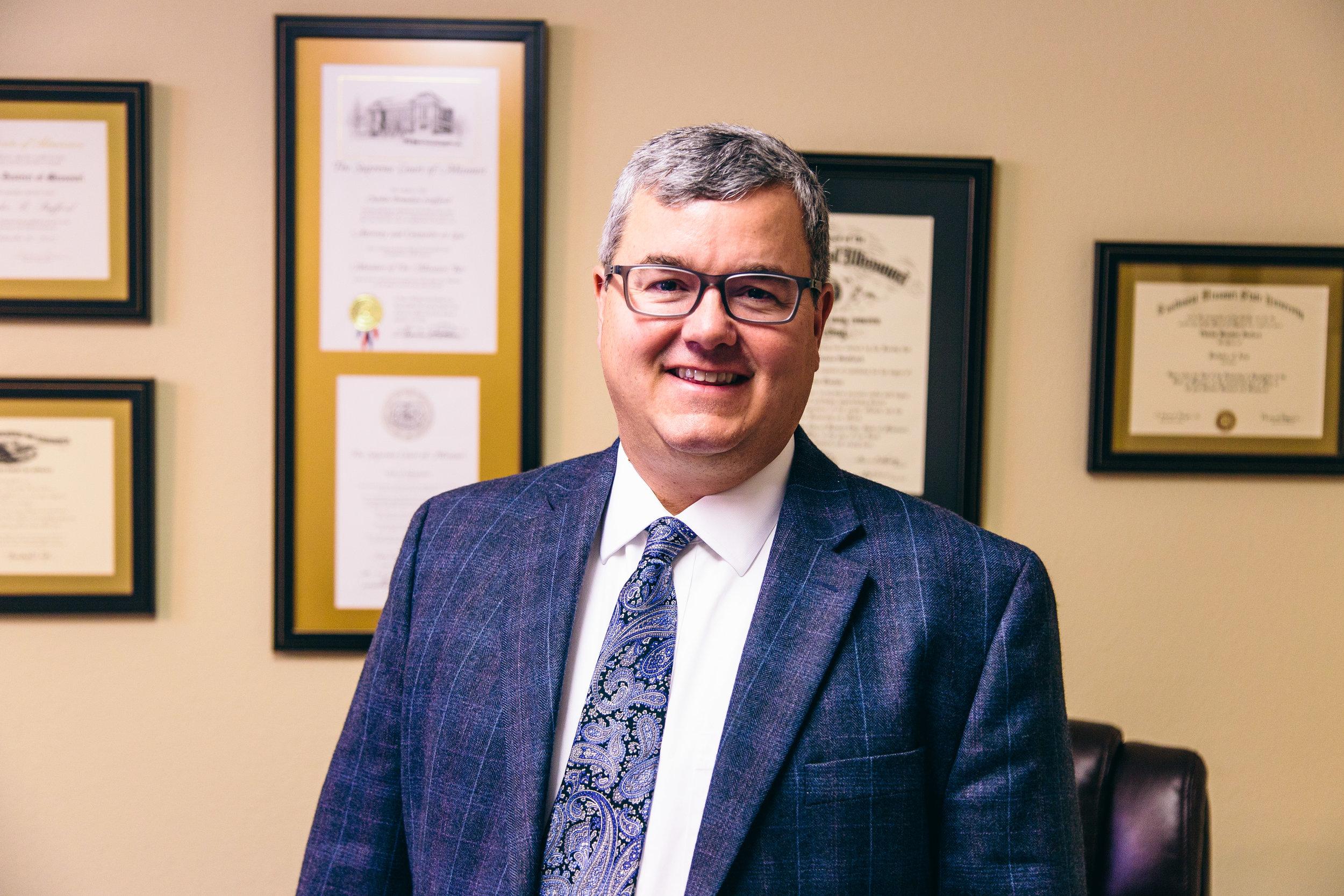 Brandon Stafford. Attorney at Law.