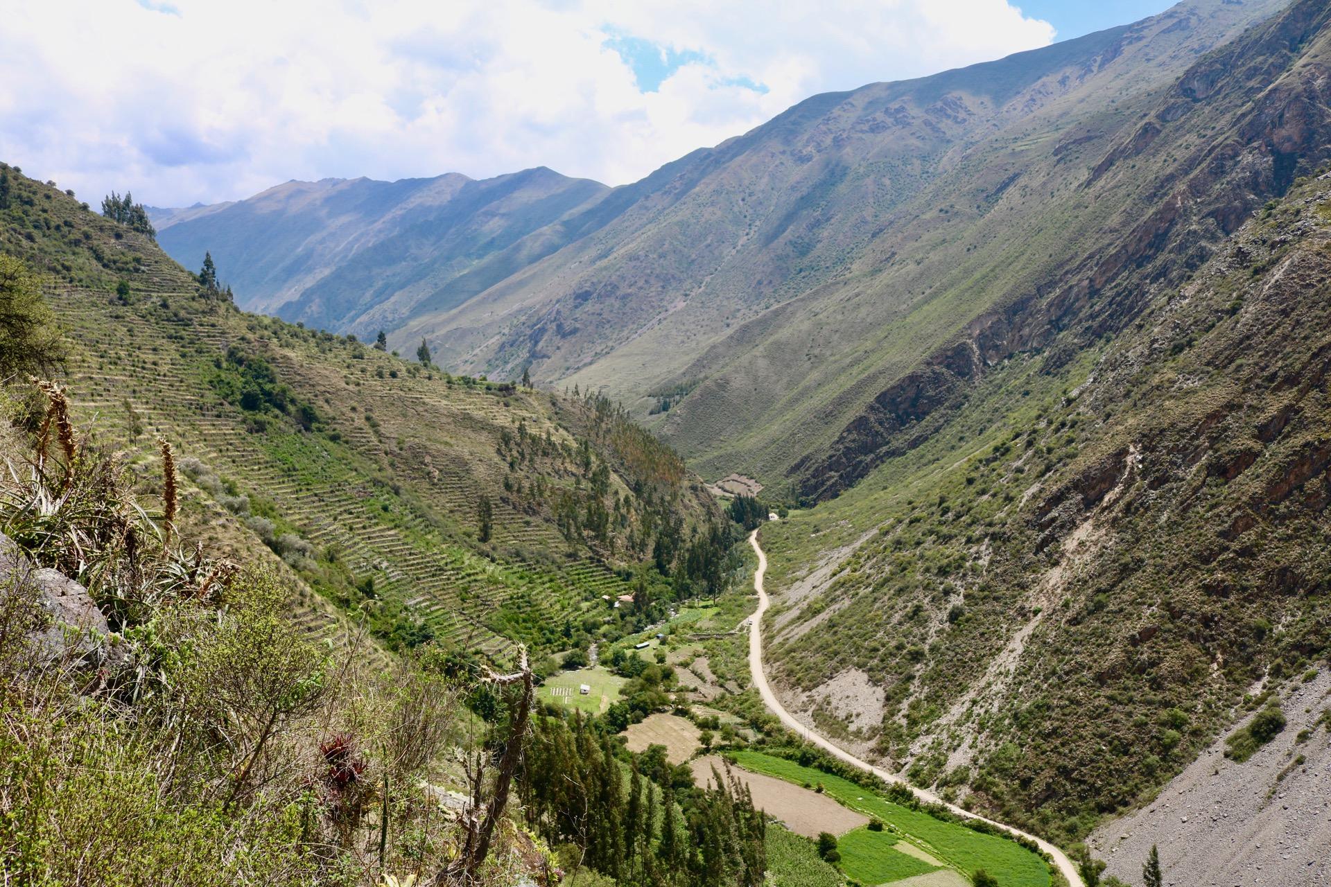 pumamarca dayhike - incan terrances