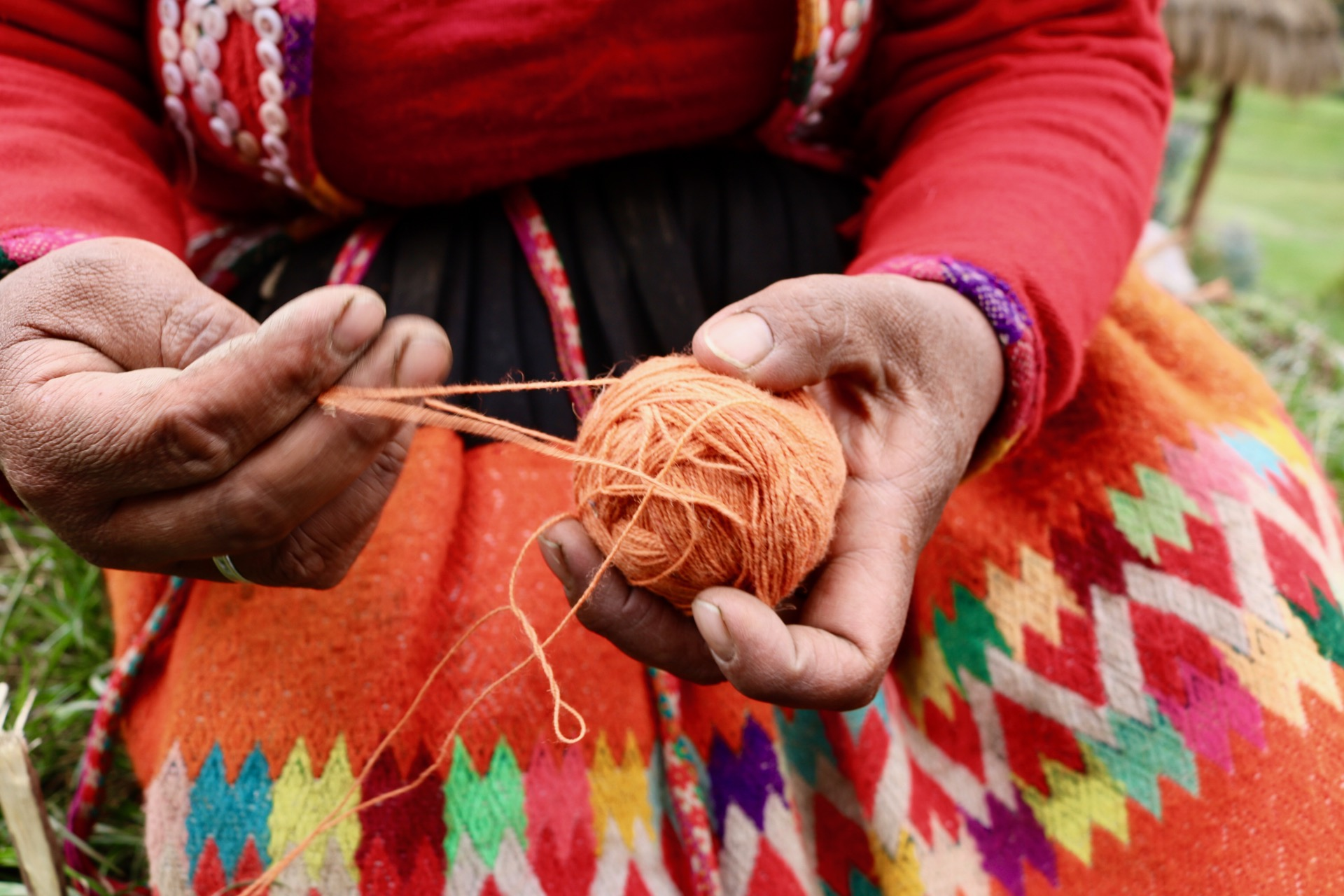 Learn how to weave in Patacancha -
