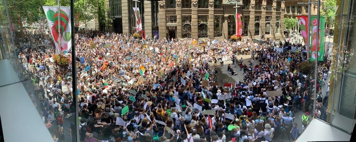 sydney climate action student walkout november 2018