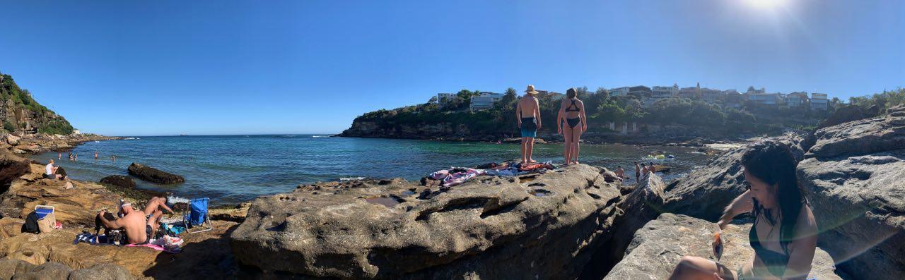 Gordon's Bay, one of my favourite beaches.