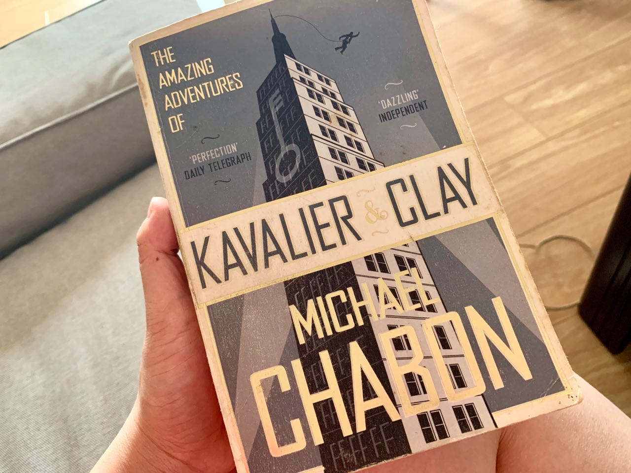 december 2018 monthly review - adventures of kavalier & clay