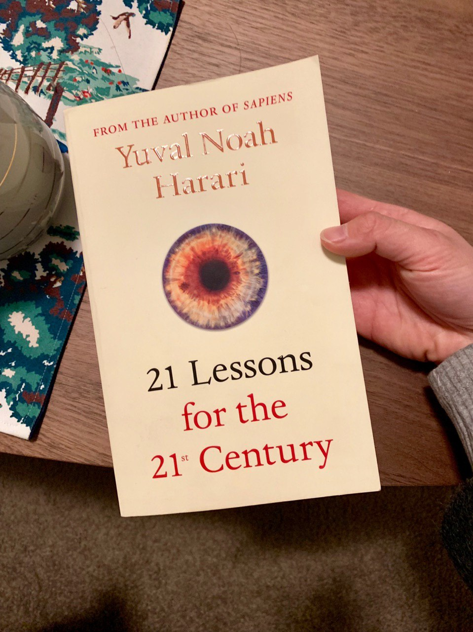 may 2019 reading: 21 lessons for the 21st century