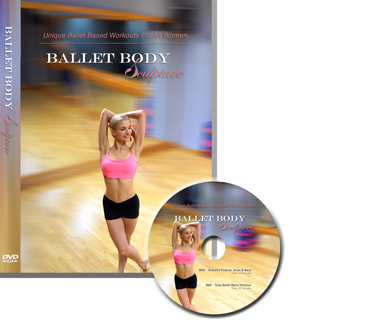 """BBS - Graceful Posture, Arms & Back""    & ""BBS – Total Ballet Barre Workout"""